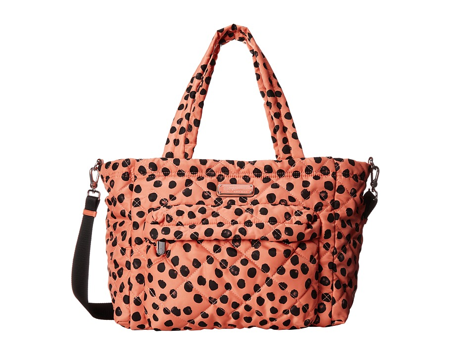 Marc by Marc Jacobs - Crosby Quilt Nylon Deelite Dot Elizababy (Spring Peach Multi) Diaper Bags