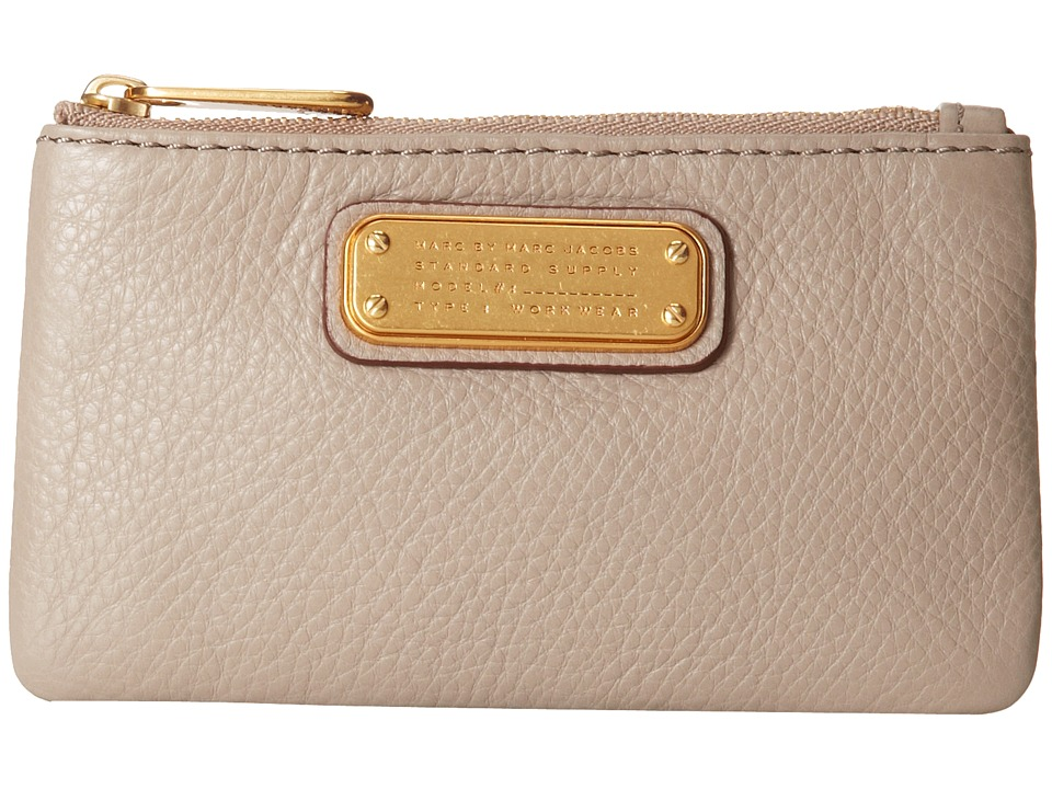 Marc by Marc Jacobs - New Q Key Pouch (Cement) Wallet