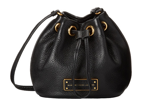 Marc by Marc Jacobs - Too Hot To Handle Mini Drawstring (Black 2) Cross Body Handbags