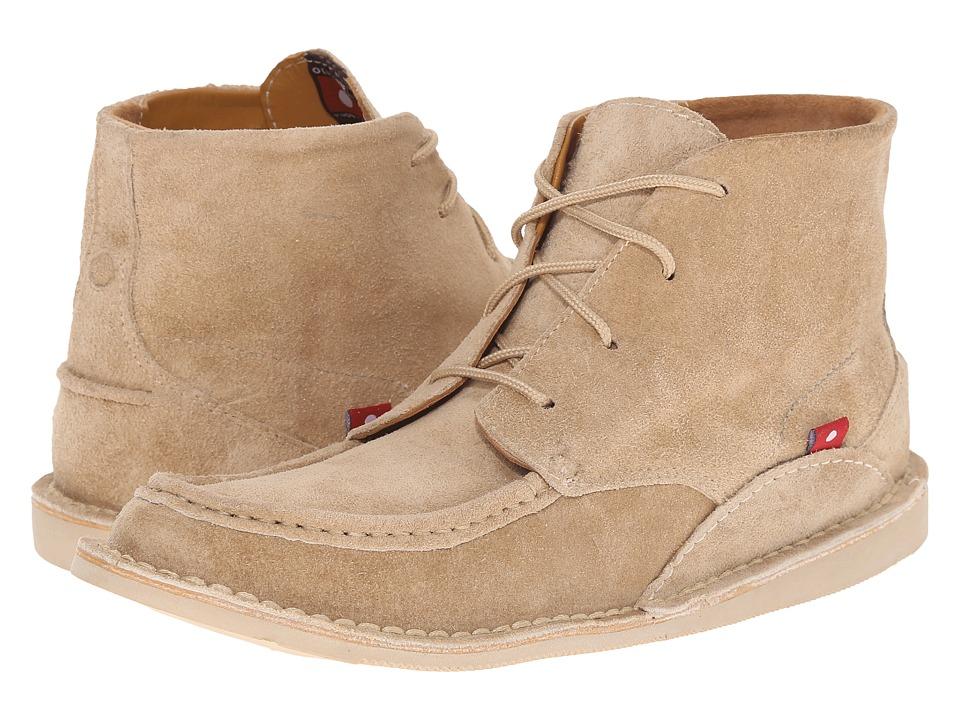 Oliberte - Mogado Hi (Sand Suede) Men's Work Boots