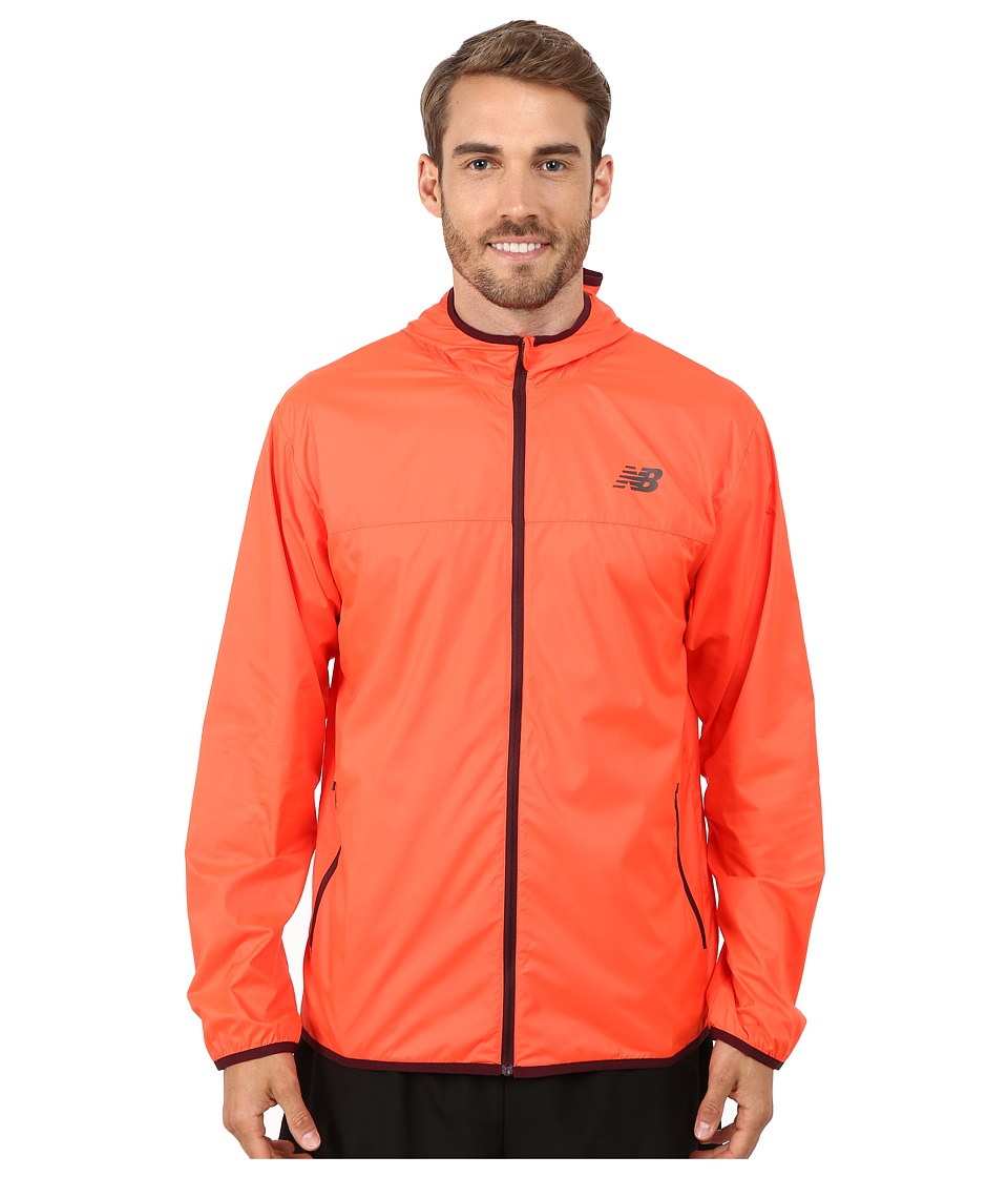 New Balance - Windcheater Jacket (Flame) Men's Jacket