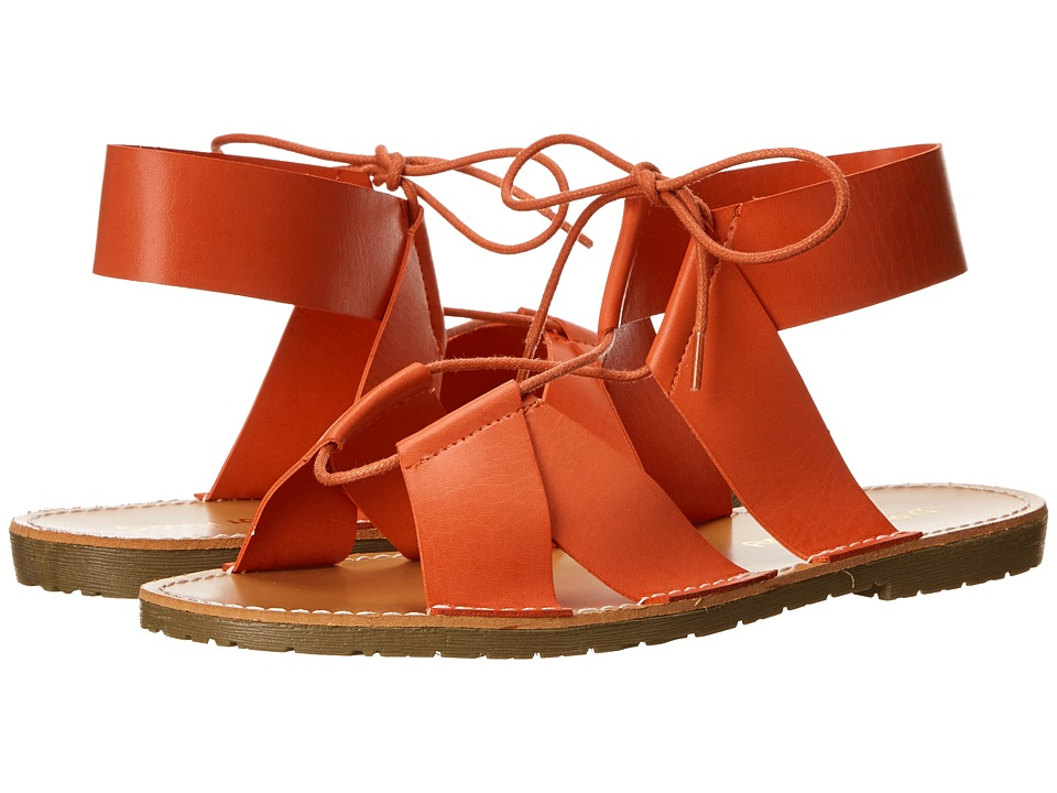 Dirty Laundry - East Ender (Coral) Women's Sandals