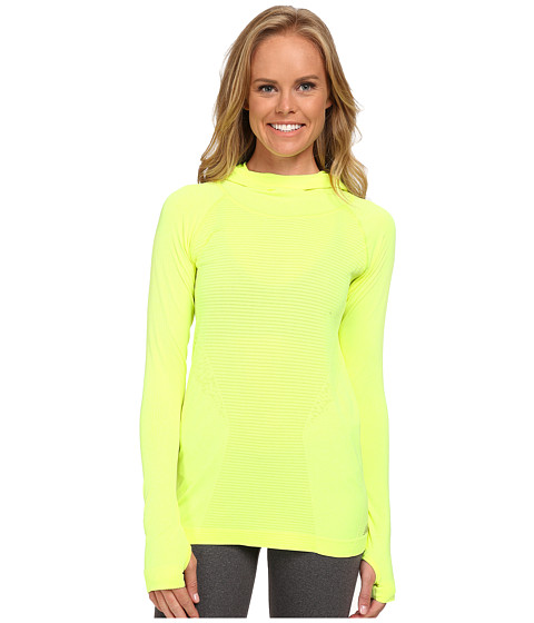 New Balance - M4M Seamless Hoodie (Hi-Lite) Women's Workout