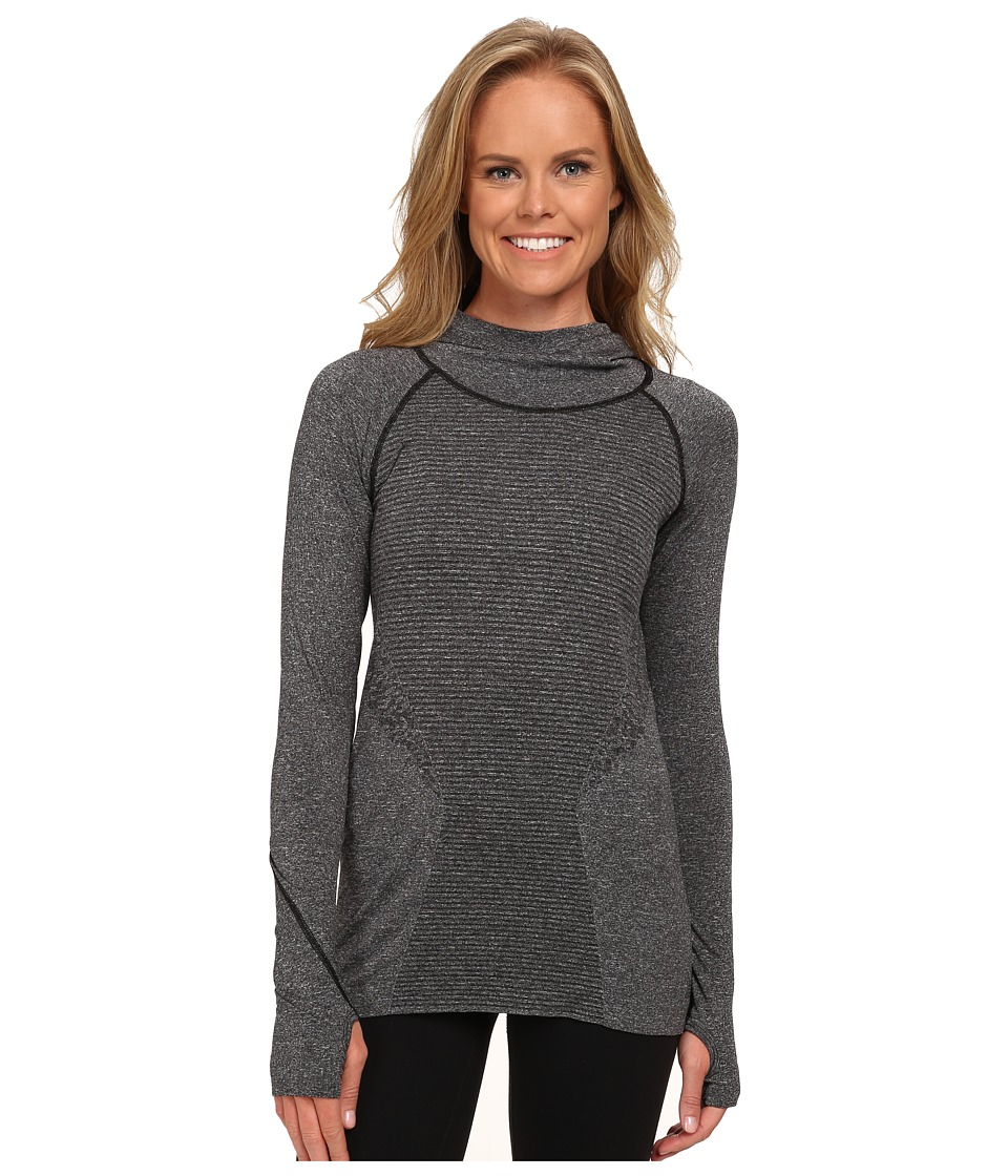 New Balance - M4M Seamless Hoodie (Black) Women's Workout