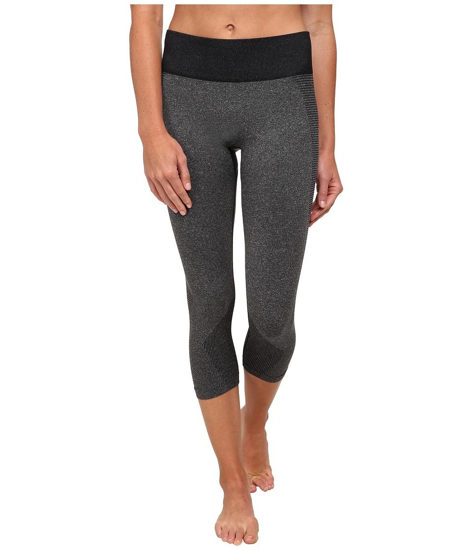 New Balance - M4M Seamless Capri (Black) Women's Workout