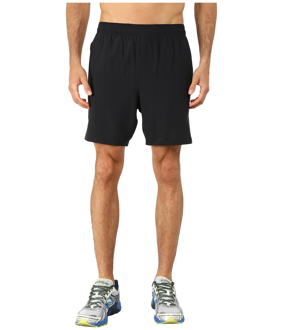 New Balance - Woven 2-in-1 Short (Black) Men's Shorts
