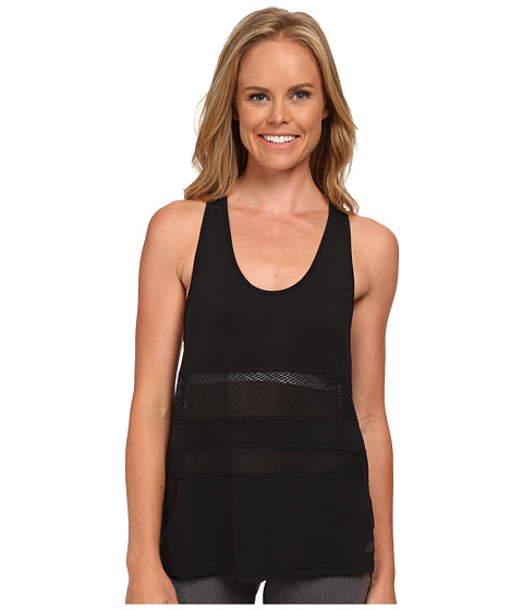 New Balance - Mesh Panel Tank Top (Black) Women