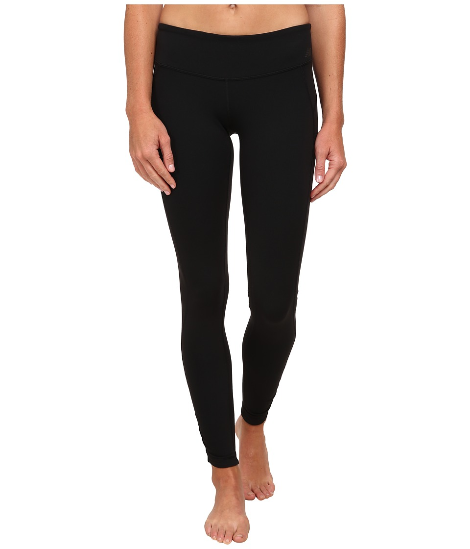 New Balance - Premium Performance Fitted Tight (Black) Women's Workout
