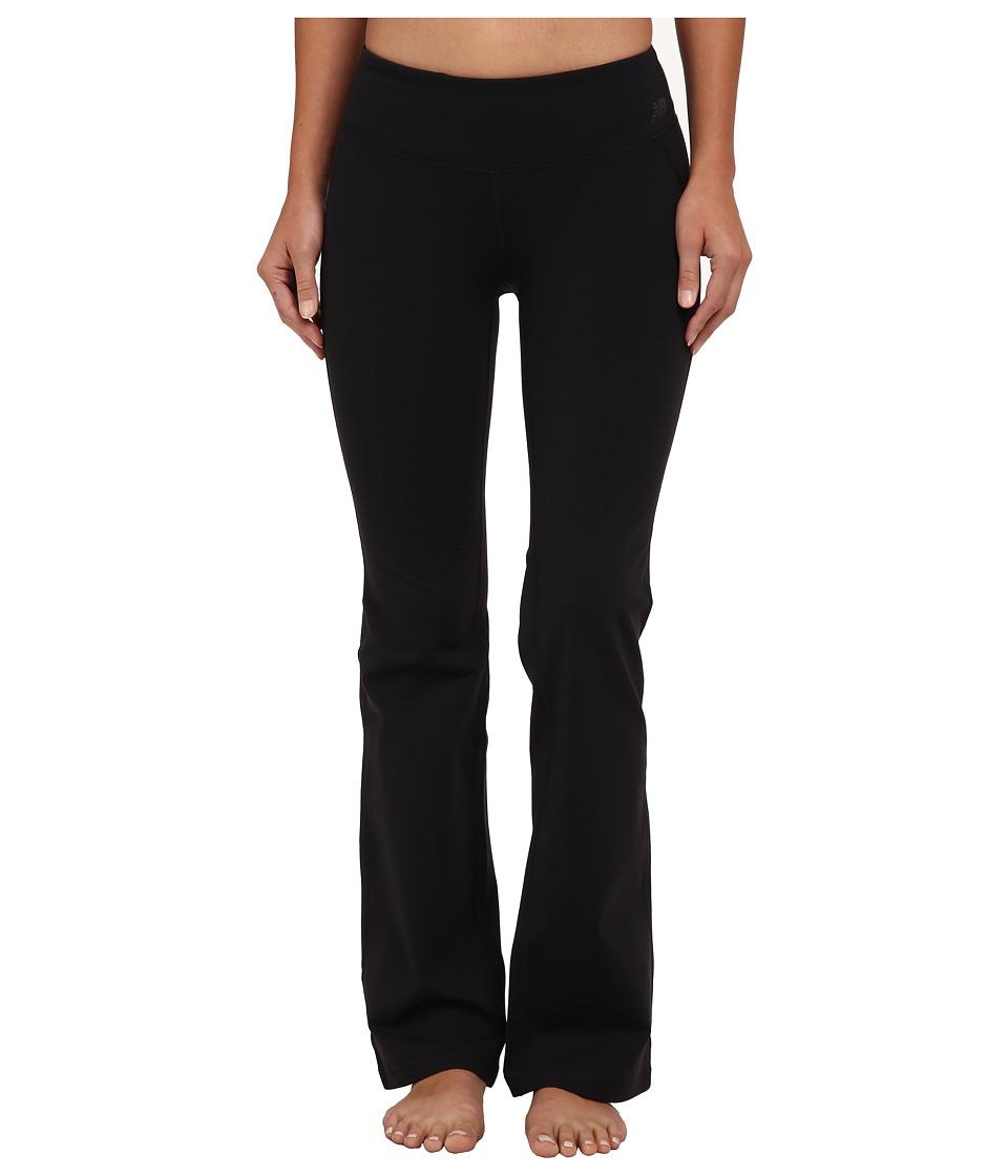 New Balance - Premium Performance Bootcut Pant (Black) Women's Workout