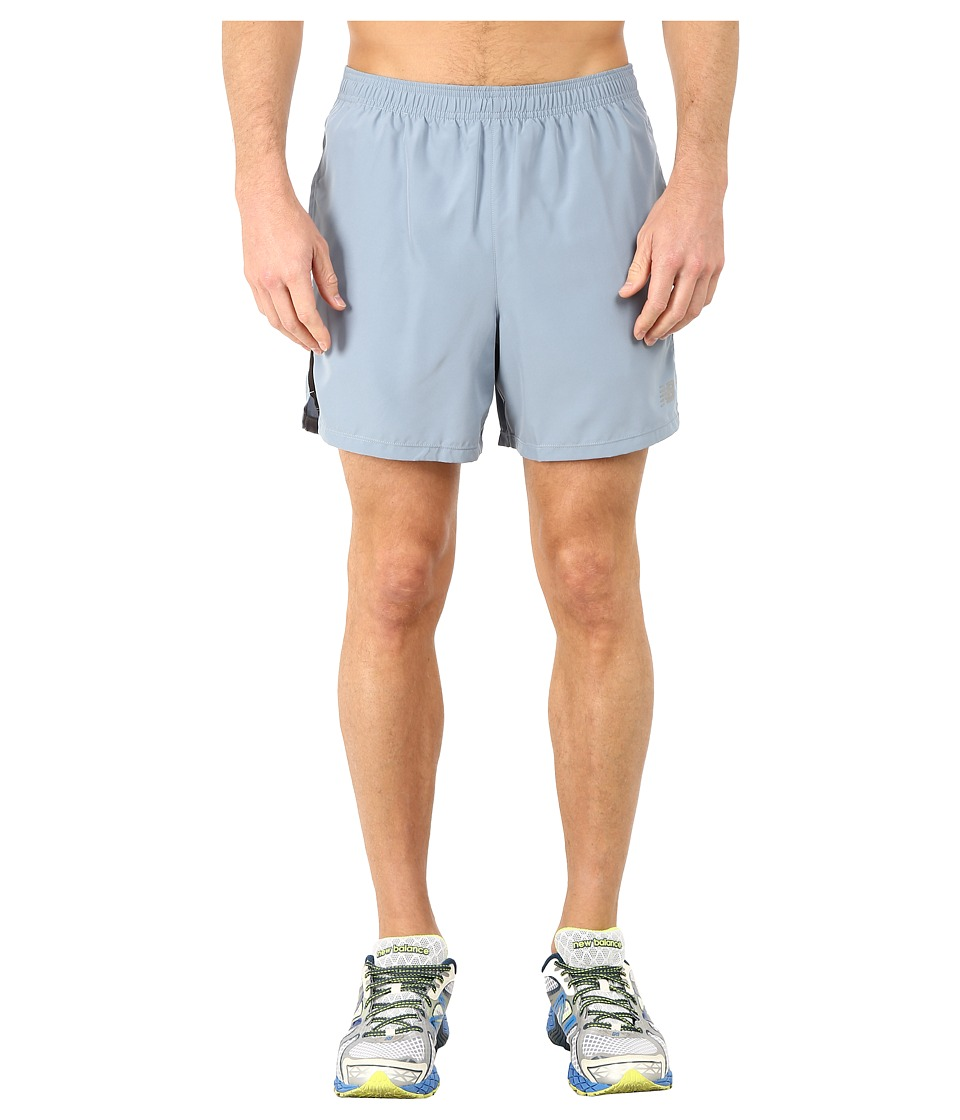 New Balance - Accelerate 5 Short (Cyclone/Black) Men's Shorts