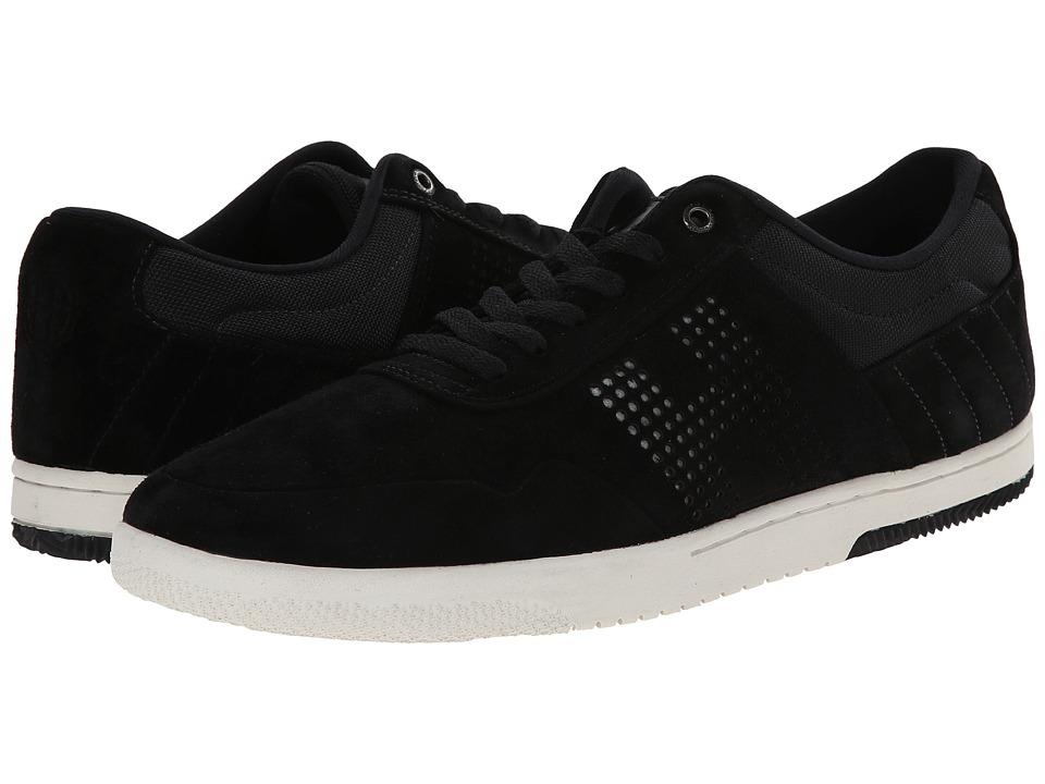 HUF - Hufnagel 2 (Black/Bone White) Men's Skate Shoes