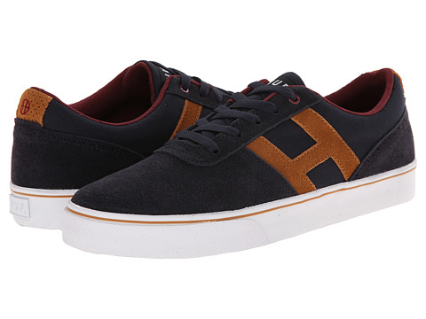 HUF - Choice (Dark Navy/Sudan Brown) Men's Skate Shoes