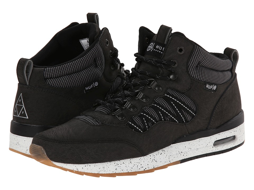 HUF - HR-1 (Black/Reflective Gum) Men's Skate Shoes