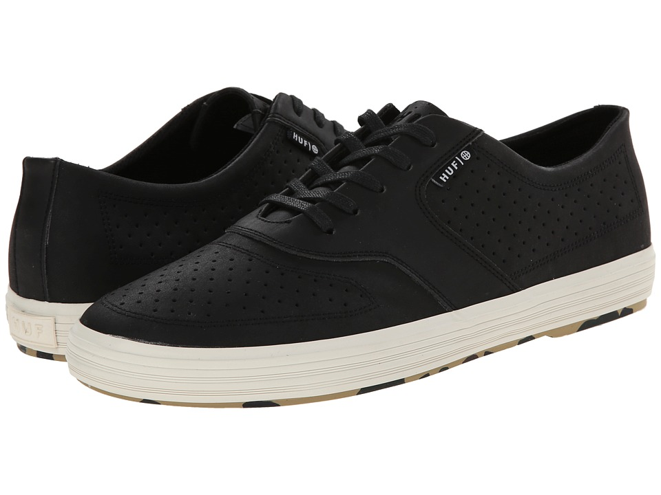 HUF - Liberty (Black/Camo) Men's Skate Shoes