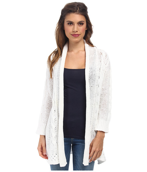 Tommy Bahama - Kearny Cardigan (White) Women