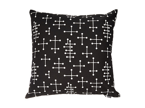 HUF - HUF Throw Pillow (Black) Sheets Bedding