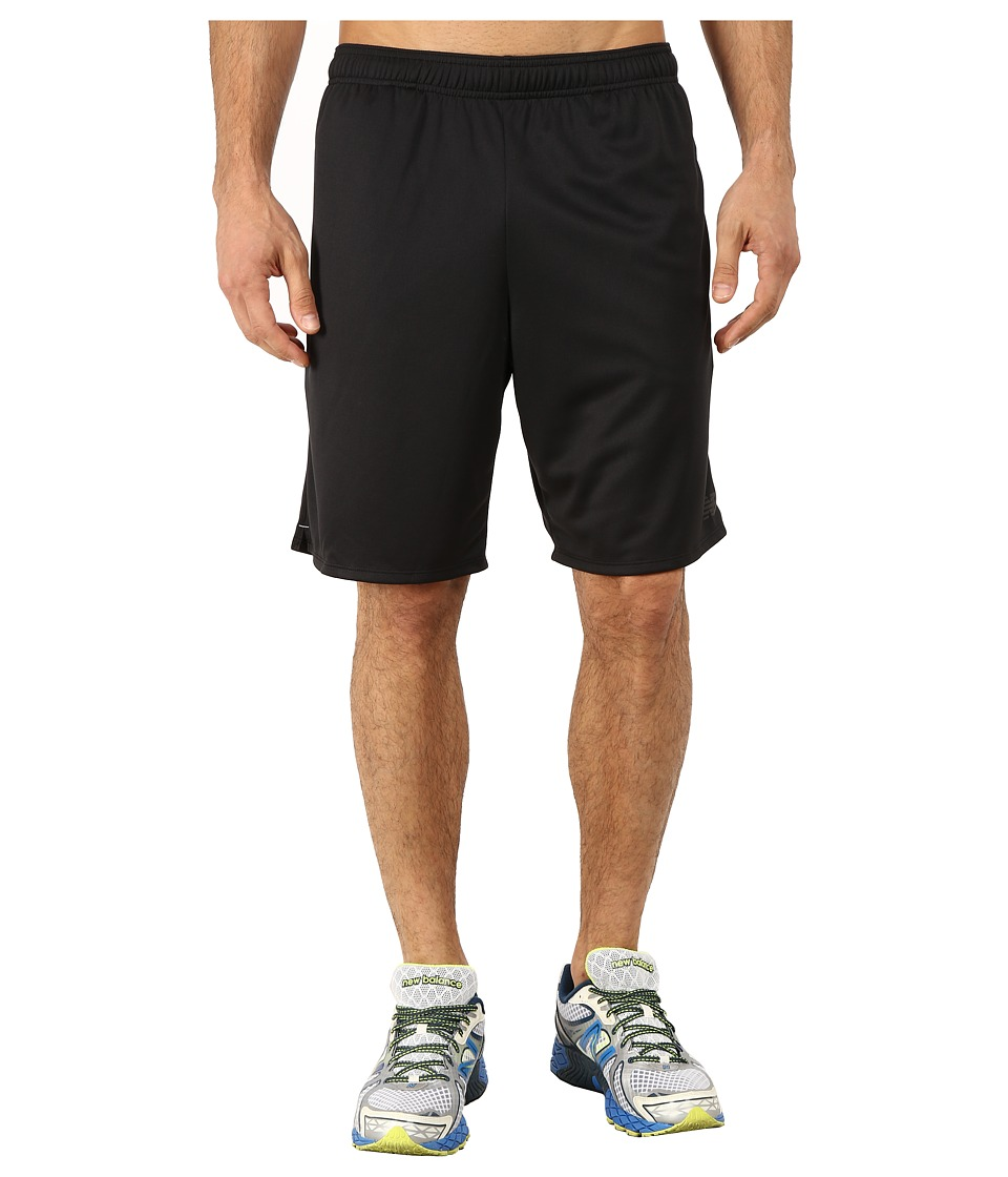 New Balance - 9 Knit Versa Short (Black) Men's Shorts