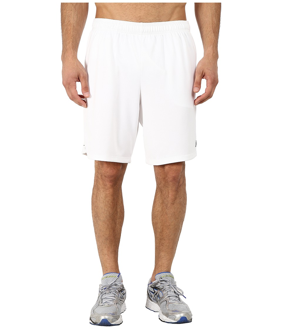 New Balance - 9 Knit Versa Short (White) Men's Shorts