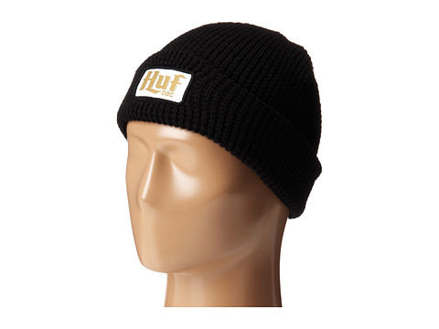HUF - Authentic Waffle Beanie (Black) Beanies