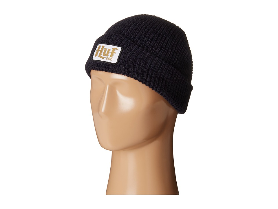 HUF - Authentic Waffle Beanie (Navy) Beanies