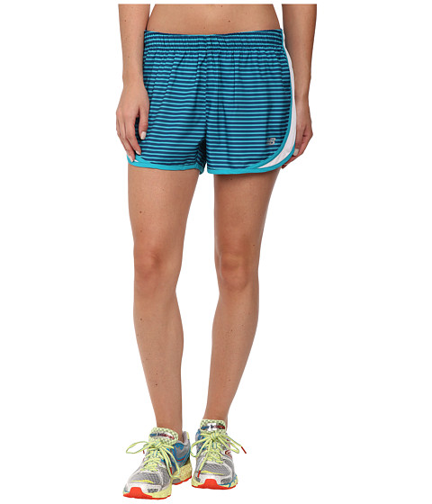 New Balance - Accelerate 2.5 Printed Short (Sea Glass/Deep Water) Women's Shorts