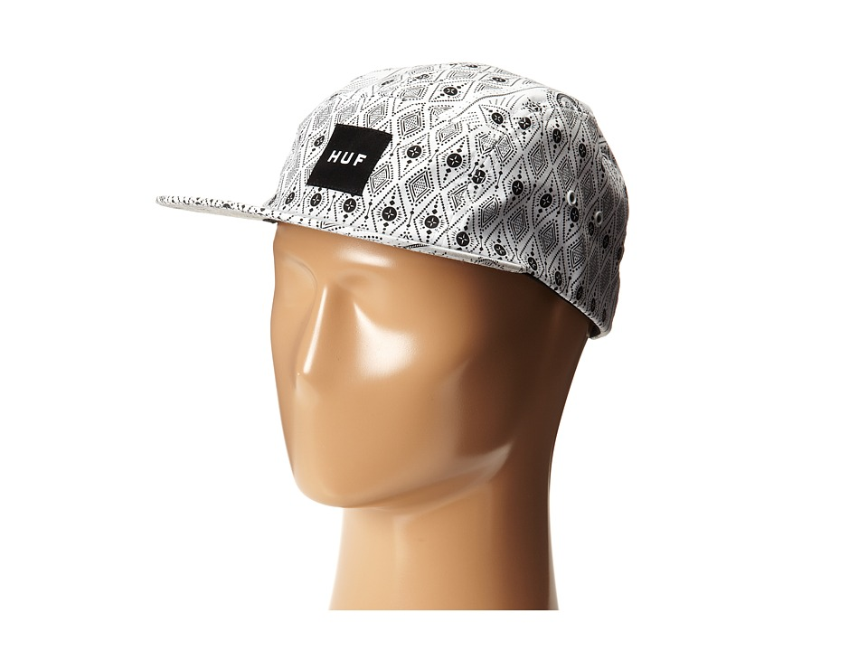 HUF - Bandana Volley (White) Caps