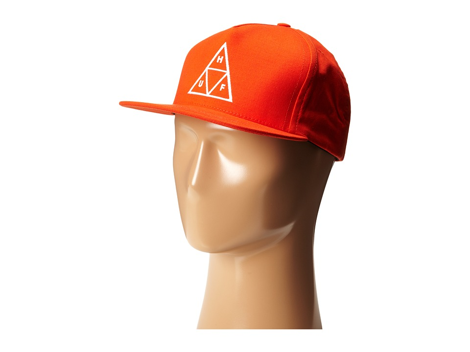 HUF - Triple Triangle Snapback (Red) Caps