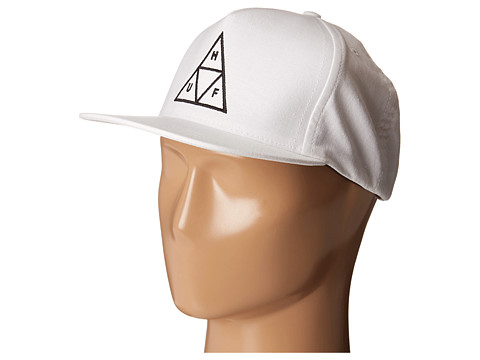HUF - Triple Triangle Snapback (White) Caps