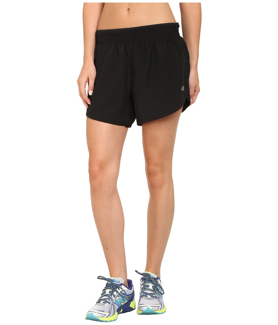New Balance - Accelerate 5 Short (Black) Women's Shorts