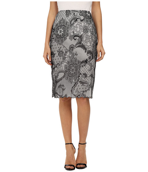 KAS New York - Mia Lace Pencil Skirt (Lace) Women's Skirt