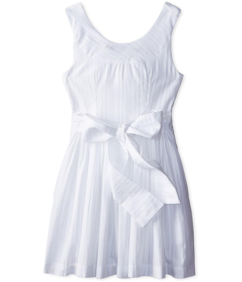 fiveloaves twofish - Summer White Dress (Little Kids/Big Kids) (White) Girl's Dress