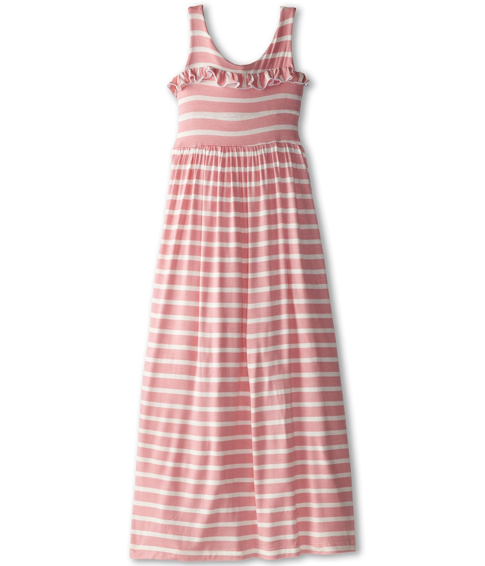 fiveloaves twofish - Lady In Waiting Maxi Dress (Little Kids/Big Kids) (Light Pink Stripe) Girl's Dress