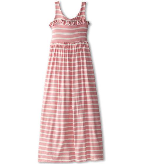 fiveloaves twofish - Lady In Waiting Maxi Dress (Little Kids/Big Kids) (Light Pink Stripe) Girl