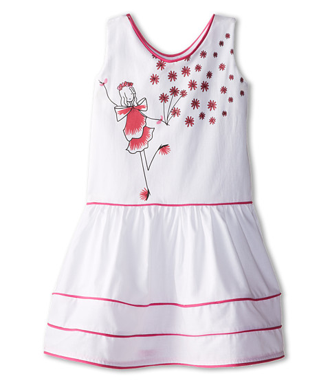 fiveloaves twofish - Girls Just Want To Have Fun Dress (Little Kids/Big Kids) (Pink) Girl's Dress