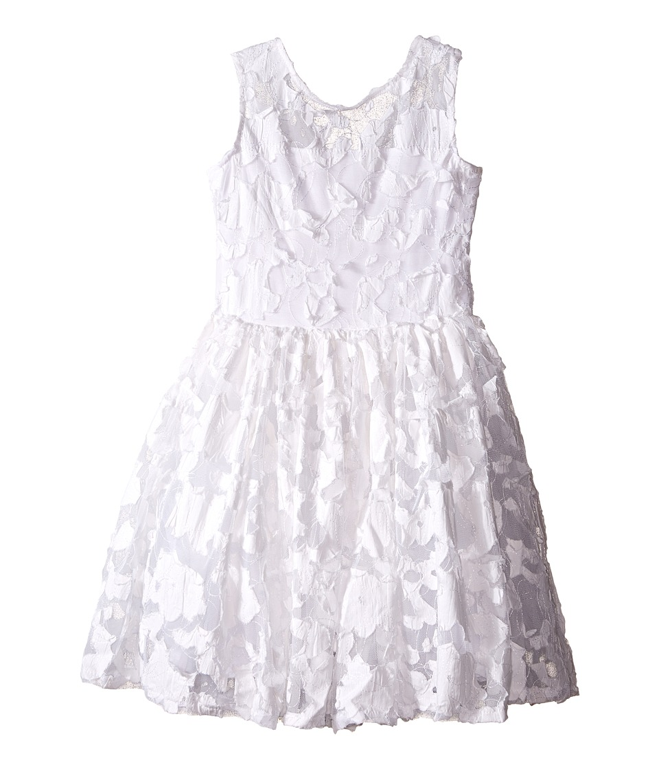 fiveloaves twofish - Pretty In White Dress (Little Kids/Big Kids) (White) Girl's Dress