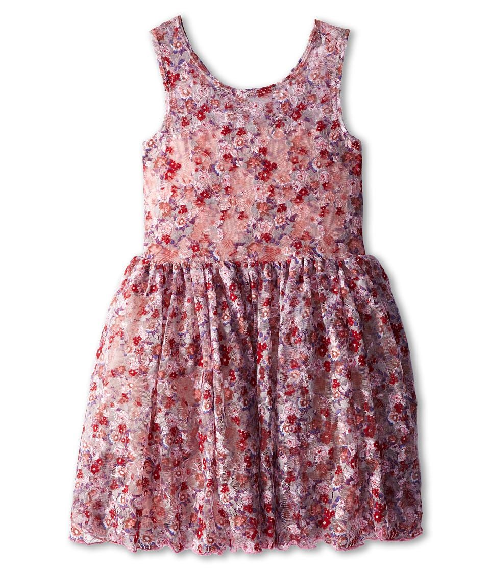 fiveloaves twofish - Secret Garden Dress (Little Kids/Big Kids) (Floral) Girl's Dress