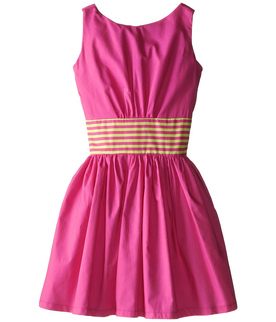 fiveloaves twofish - City Girl Dress (Little Kids/Big Kids) (Hot Pink) Girl's Dress
