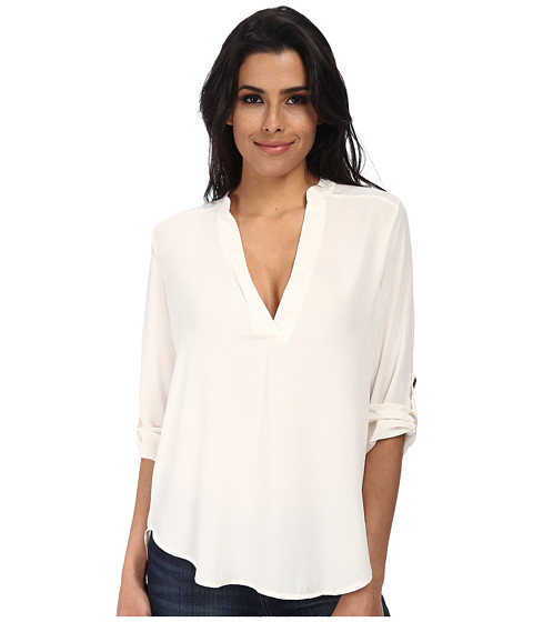 Brigitte Bailey - Channing V-Neck Blouse (Off-White) Women