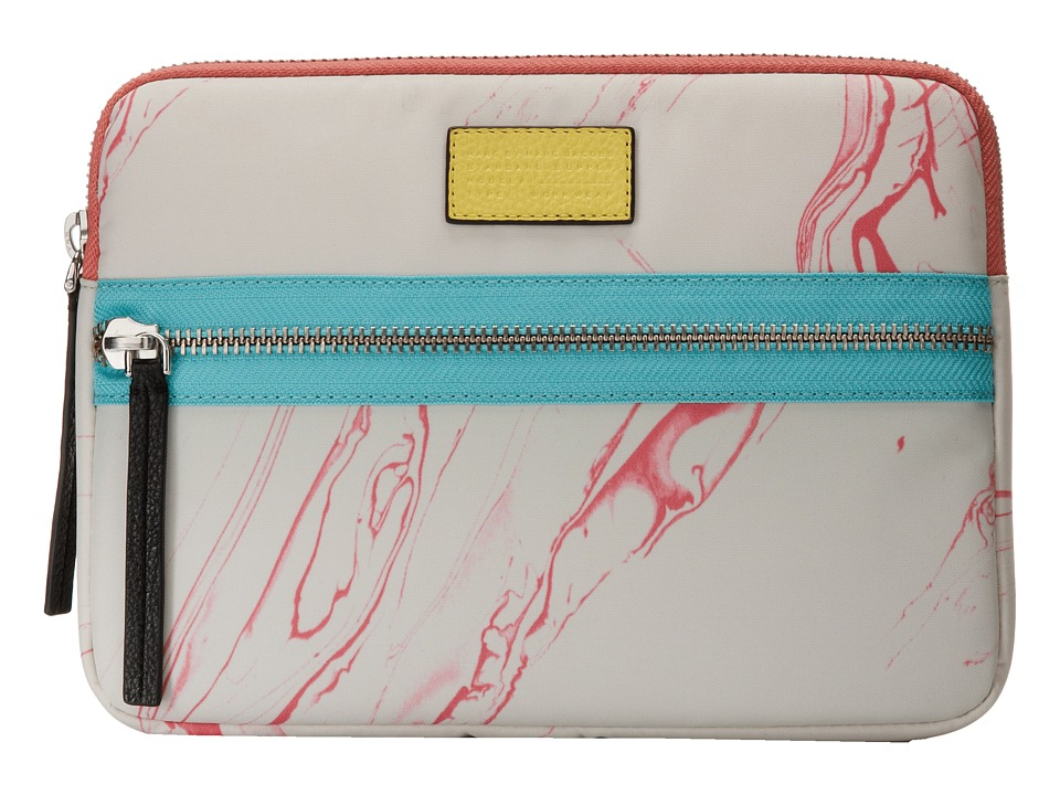 Marc by Marc Jacobs - Domo Arigato Milk Marble Tablet Case (Light Mint Multi) Computer Bags