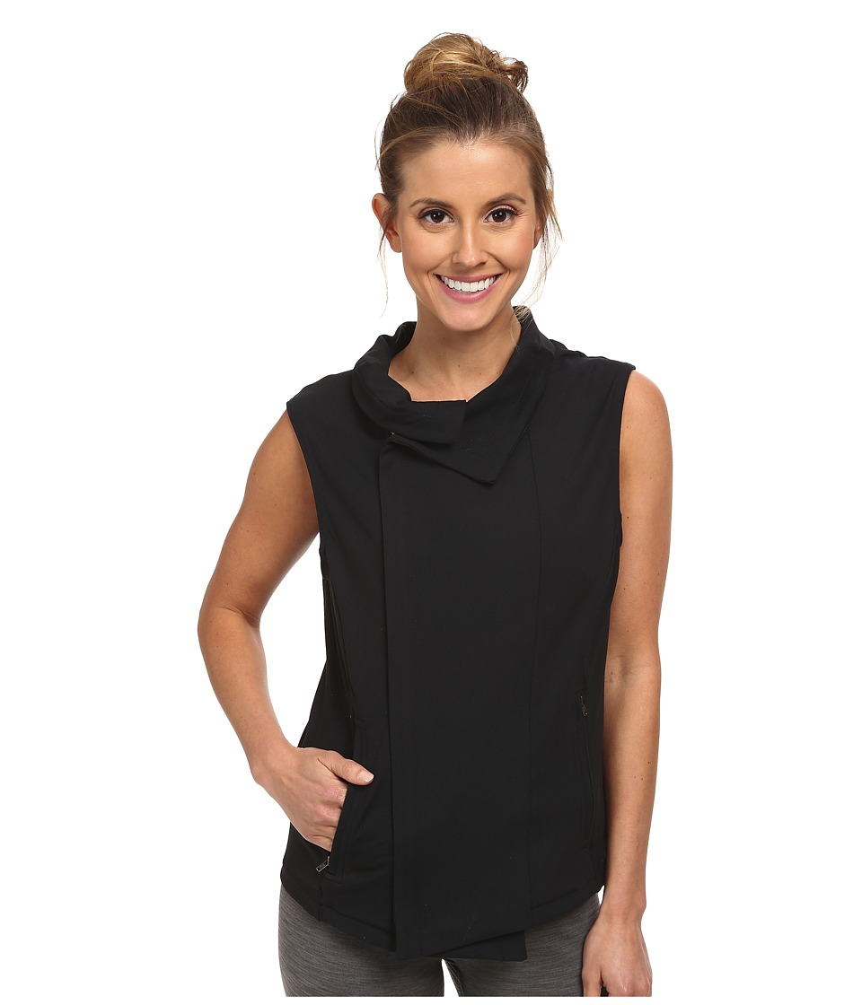 Zobha - Kate Full Zip Vest (Black) Women