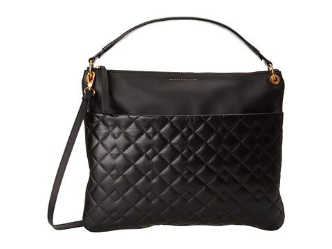 Marc by Marc Jacobs - Tread Lightly Hobo (Black 1) Hobo Handbags