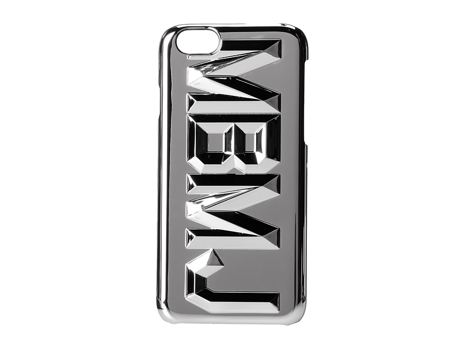 Marc by Marc Jacobs - Faceted Metallic iPhone 6 Case (Silver Multi) Cell Phone Case