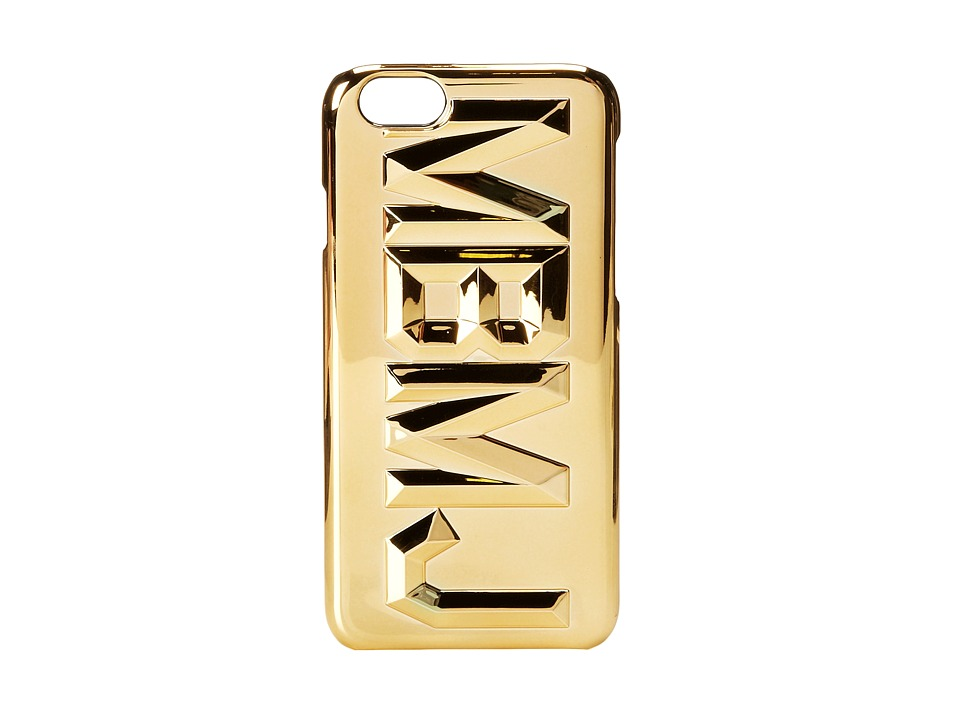 Marc by Marc Jacobs - Faceted Metallic iPhone 6 Case (Gold Multi) Cell Phone Case