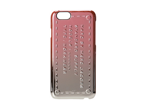 Marc by Marc Jacobs - Metallic Ombre Standard Supply iPhone 6 Case (Spring Peach Multi) Cell Phone Case