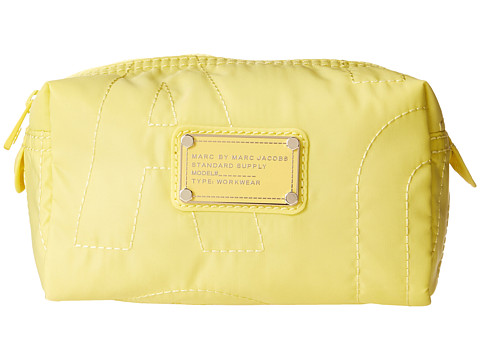 Marc by Marc Jacobs - Pretty Nylon Small Cosmetic (Banana Cr me) Cosmetic Case