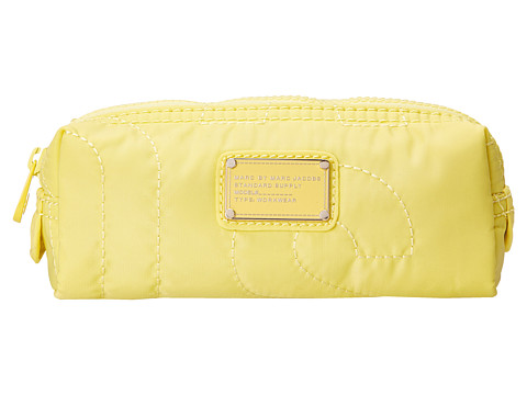Marc by Marc Jacobs - Pretty Nylon Narrow Cosmetic (Banana Cr me) Cosmetic Case