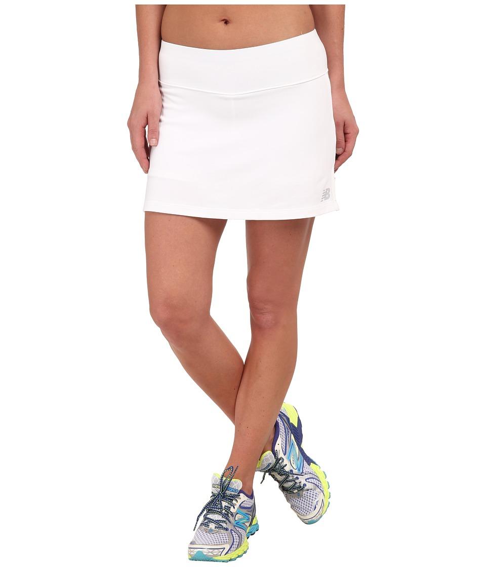 New Balance - Challenger Skort (White) Women's Skort