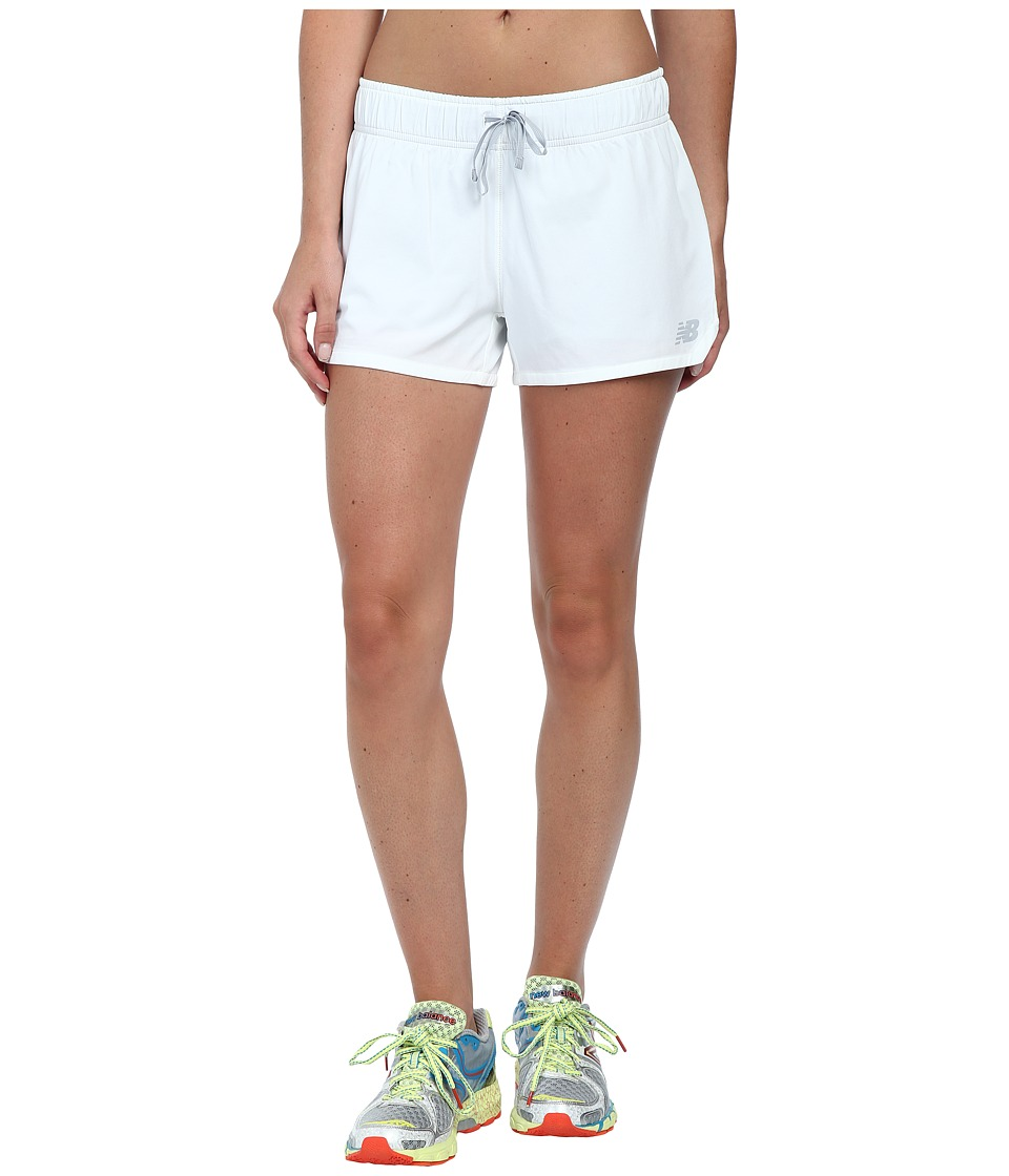 New Balance - Ultra Short (White) Women's Shorts