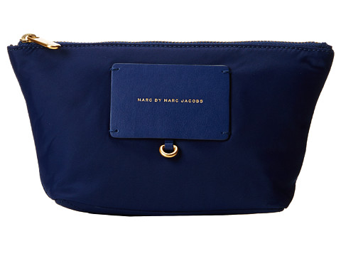 Marc by Marc Jacobs - Preppy Legend Cosmetic Perfect Pouch (Blue Depths) Cosmetic Case