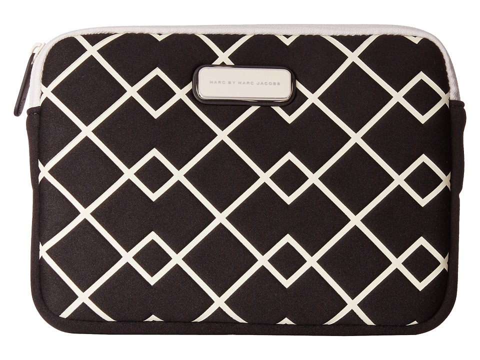 Marc by Marc Jacobs - Crosby Neoprene Mini Tablet Case (Black Multi) Computer Bags